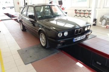 BMW E30 badania techniczne