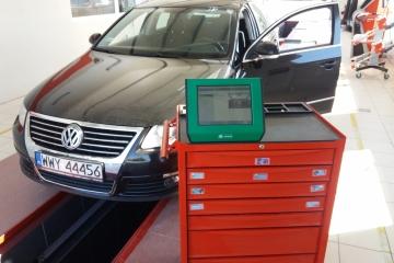 Diagnostyka komputerowa VW Passat